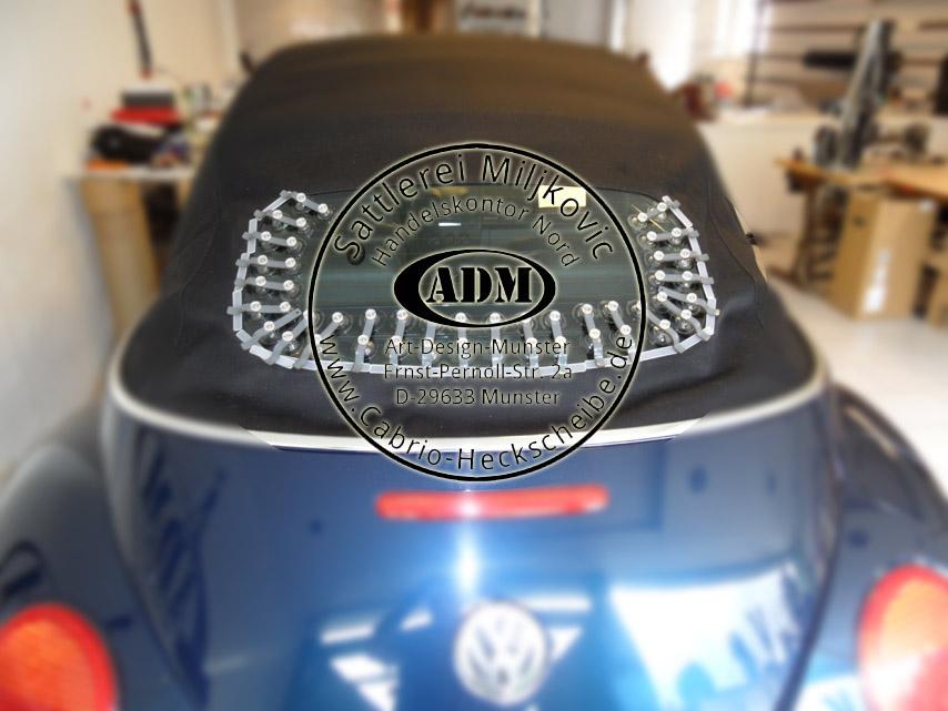 vw beetle convertible top rear window glass repair glue. Black Bedroom Furniture Sets. Home Design Ideas