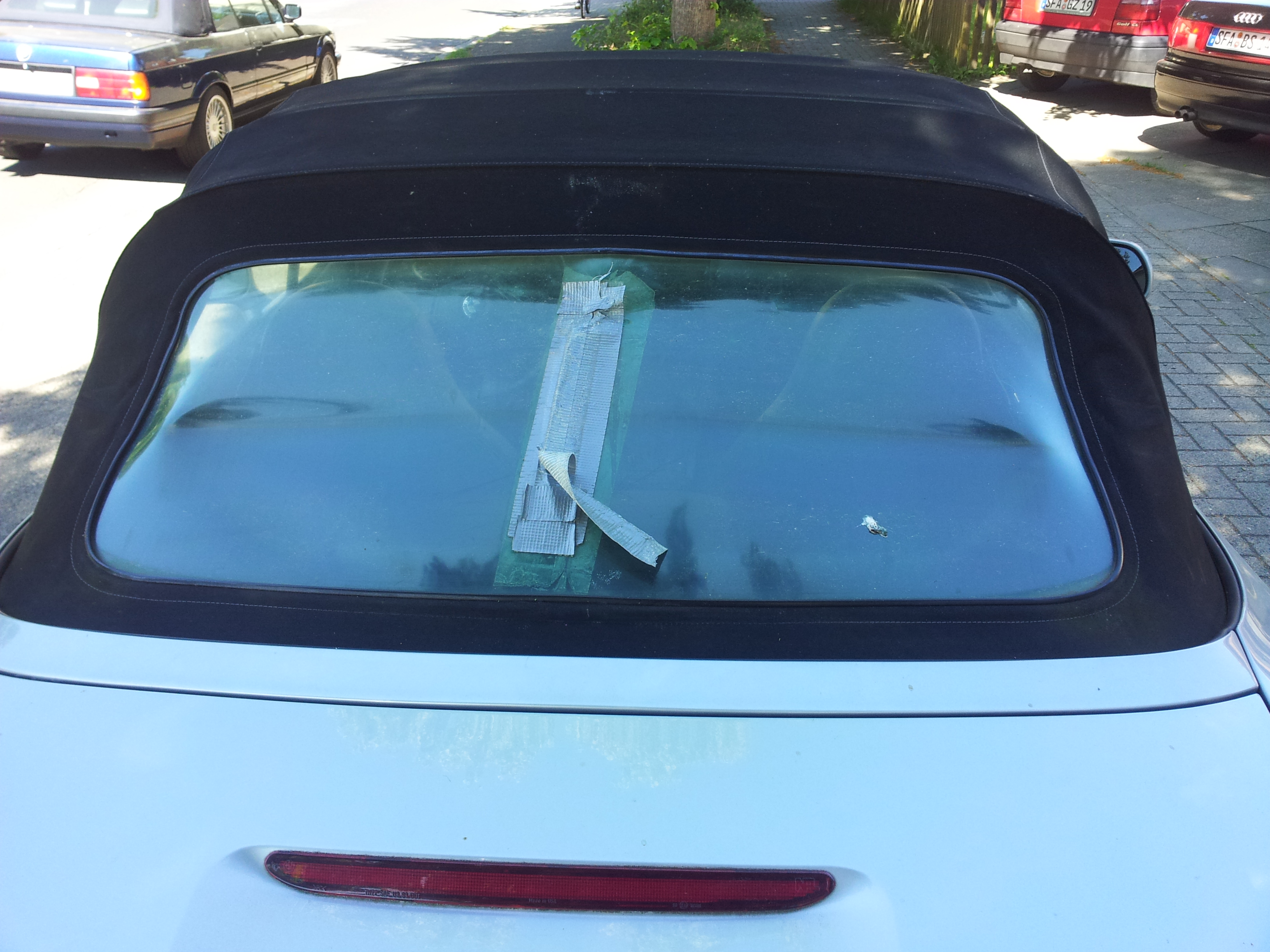 Bmw Z3 Rear Window Bmw Z3 Convertible Top Rear Window